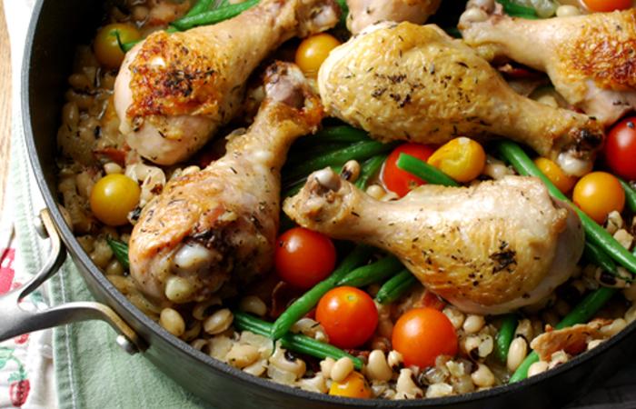 pollo a la sarten