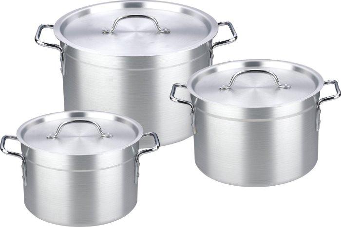 Como cuidar mejor las ollas de aluminio for Sartenes industriales