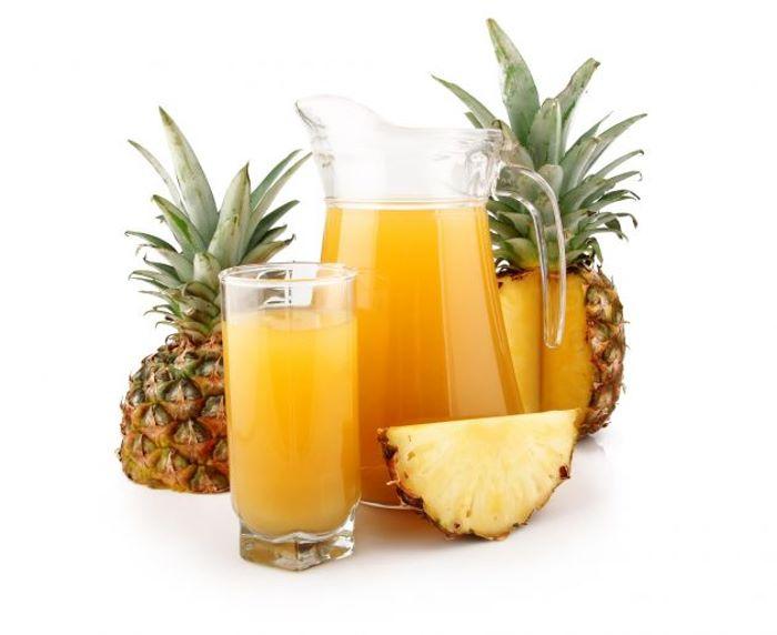 Como hacer un refresco de ananá