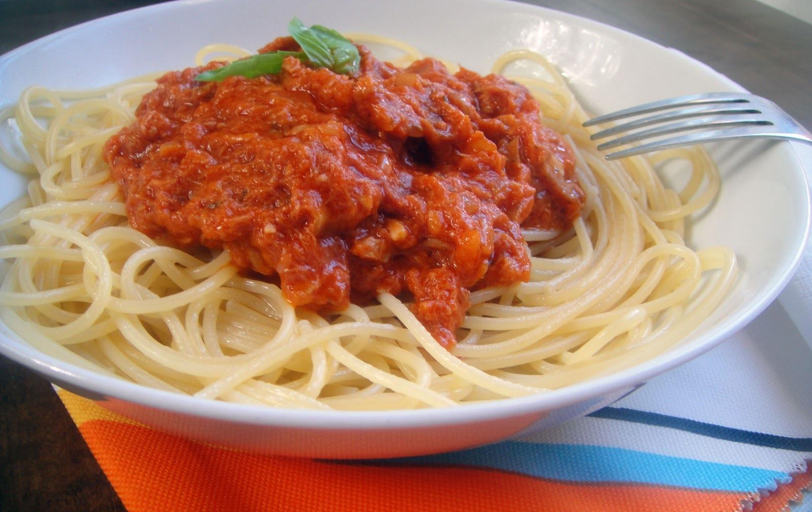 spaghetti al atun
