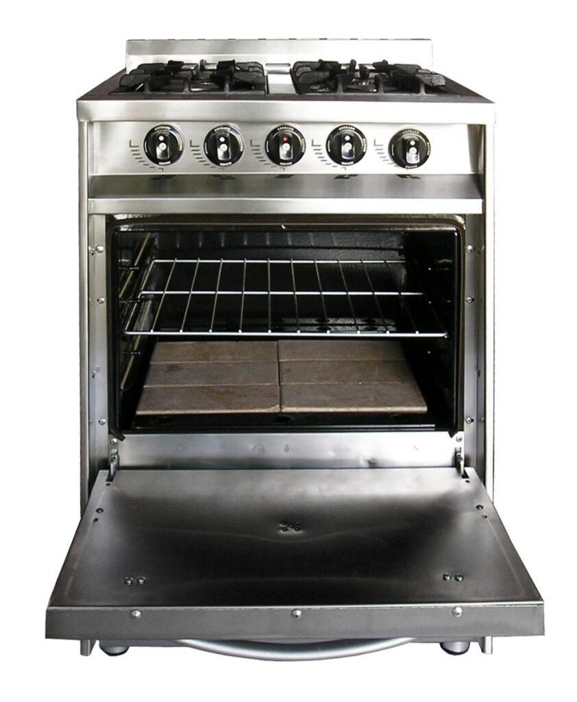 cuales son las temperaturas del horno el fondo de la
