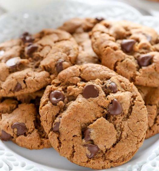 galletitas de almendras y chocolate