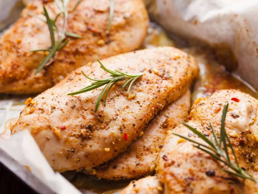 receta de pollo con romero y ajo